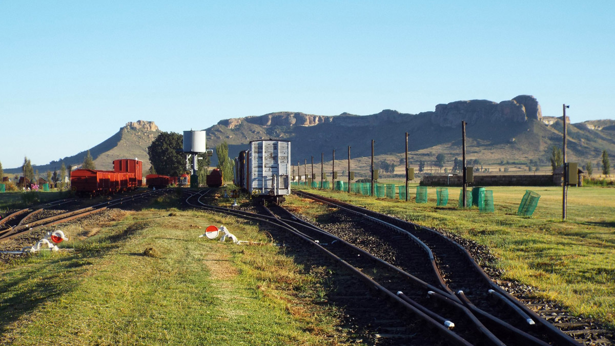 Sandsone railway's North yard